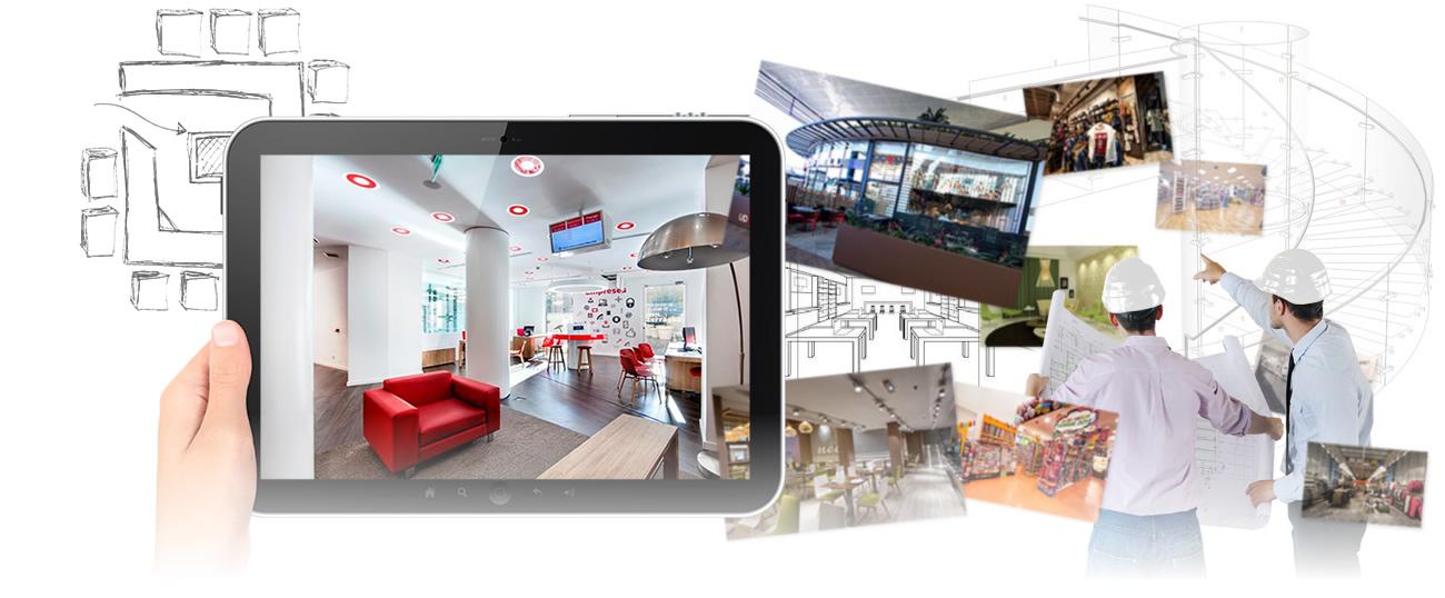 Sicetres proyectos de obra civil y mobiliario para retail for Vodafone oficinas barcelona