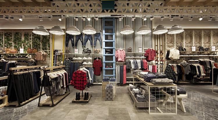 Retro jeans moda proyectos de obra civil y mobiliario for Vodafone oficinas barcelona