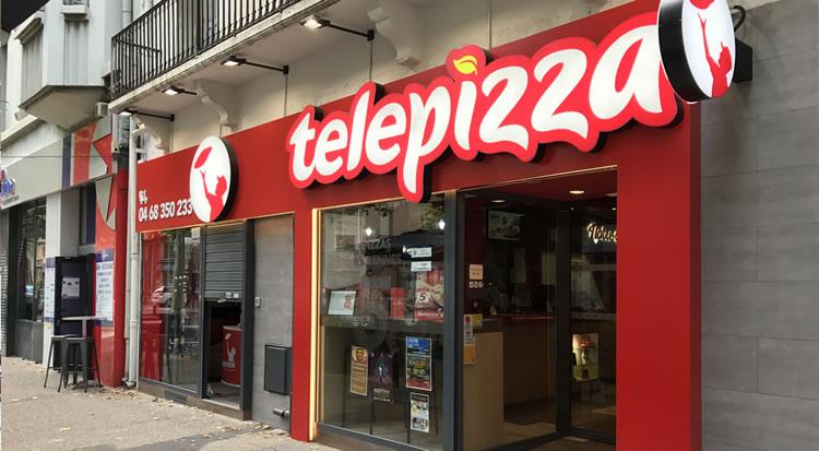 Telepizza restauraci n proyectos de obra civil y for Vodafone oficinas barcelona